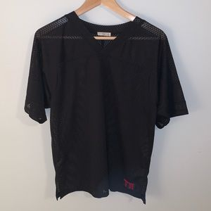 🌸2/$30🌸TNA Black Basketball Style Jersey Top
